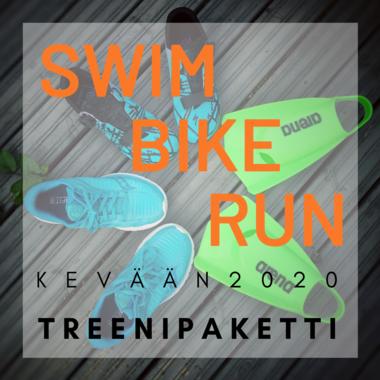 SWIM - BIKE - RUN - kevään treenipaketti 2020
