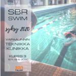 SBR SWIM - Vapaauinnin Tekniikkakliniikka 16.11.-14.12.2020 - TÄYNNÄ!